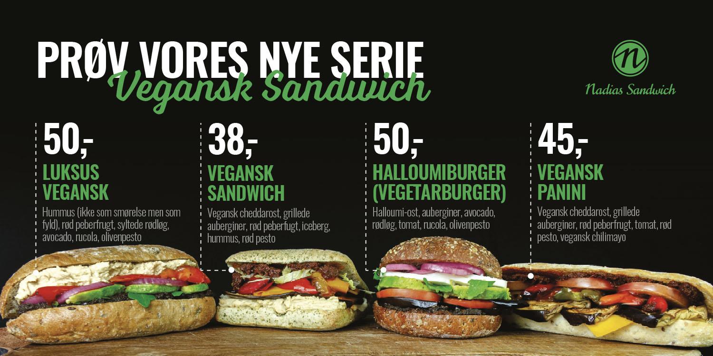 Nadias - Vegansk Sandwich