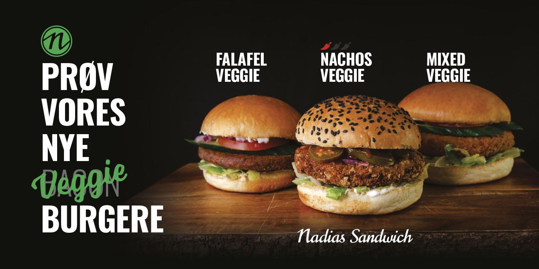 Nadias - Veggie Burgers